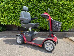 Gebruikte scootmobiel - Beaufort 10 rood - rechts | De Scootmobiel Winkel