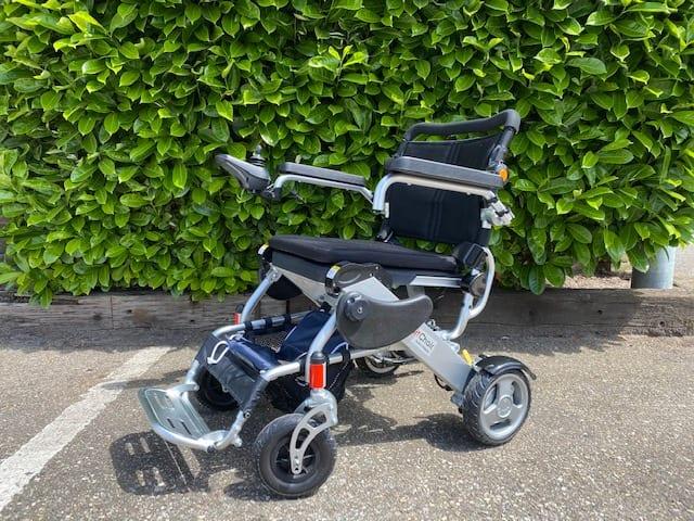 Gebruikte scootmobiel - Smart Chair elektrische vouwrolstoel | De Scootmobiel Winkel