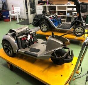 Reparatie en Onderhoud - scootmobiel onderhoud | De Scootmobiel Winkel